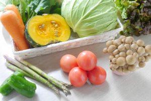 複数の野菜の画像