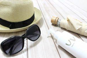 日焼け対策 サングラス 帽子 日傘