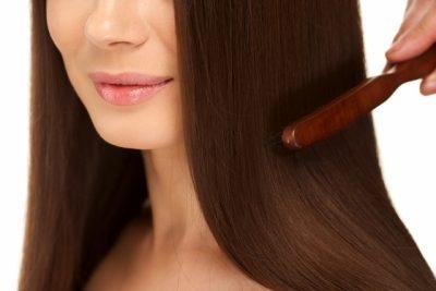 女性の美しい髪