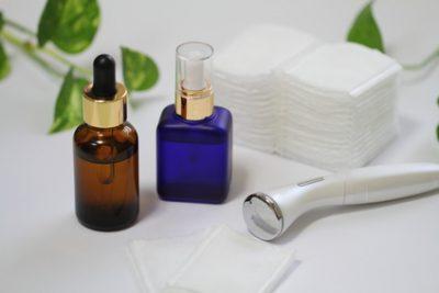 美顔器と美容液