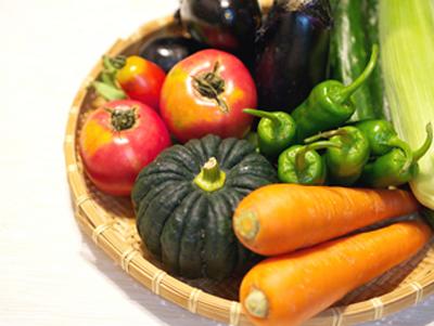 食物繊維豊富な野菜のイメージ画像