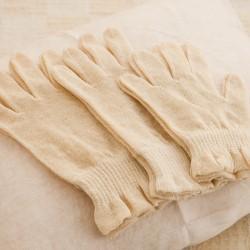 麻 ナイト手袋