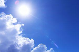 紫外線のイメージ写真