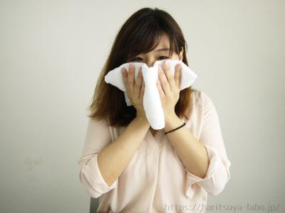 乾いたタオルで水気を拭き取ったら洗顔終了