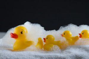 あひる 泡 お風呂