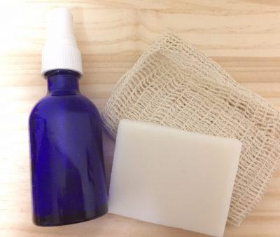 化粧水と石鹸
